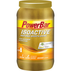 PowerBar Isoactive Isotonic Sports Drink Tub 1320g, Orange